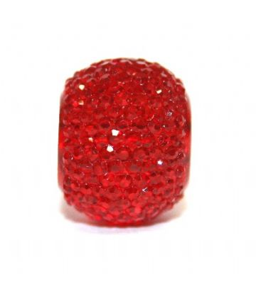 10 pieces x 14mm*10mm Transparent red diamond acrylic beads S.F/H - DAB011-14